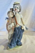 Lladro Girl Clown & Puppy Figurine ~ Pals Forever ~ #7686 Mint No Box #21