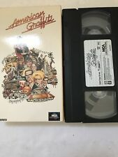 American Graffiti MCA Universal 1990 Release VHS 📼 Tape Tested 👍