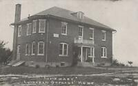 Postcard Infirmary Lutheran Orphans' Home Topton PA