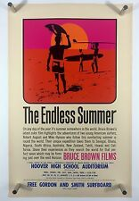 ENDLESS SUMMER Original 11x17 Movie Poster One Sheet Art Bruce Brown SURFING