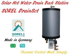 Sorel Drain Back Solar Hot Water System Station DrainSet