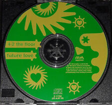 4-2 The Floor - Future Love - CD Single - Australia - Disc Only