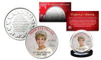 PRINCESS DIANA 1997-2017 20th ANNIVERSARY Royal Canadian Mint RCM Coin - CROWN