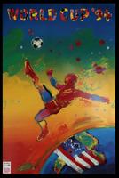 USA World Cup 1994 Retro Glossy Art Print 8x10 Inches Football Soccer