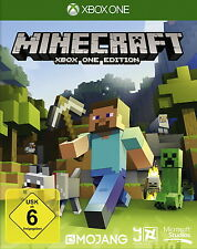 Minecraft: Xbox One Edition (Microsoft Xbox One, 2014, DVD-Box)