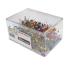 Dekonadeln Nadeln Tropfen 10 Stecknadeln Plastikkopfnadeln