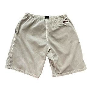 Gramicci Vintage Men's Belted Climbing Shorts Size Small Gray USA 100% Cotton