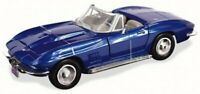 CHEVROLET Corvette - 1967 - bluemetallic - MotorMax 1:24