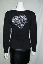 Metal Mulisha Womens Amanda L/S Knit Top Large