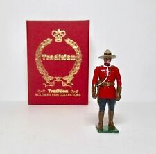 TRADITION Lead Toy Soldier ROYAL CANADIAN MOUNTED POLICE BOXED FIGURE Britains