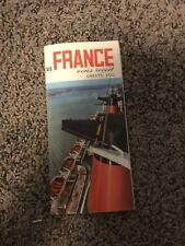 Vintage S/S France Brochure 1960's