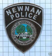 Police Patch  - Georgia -Newnan City of Homes