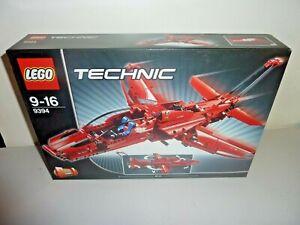 lego technic 9394 jet plane 2 in 1 new sealed 2012
