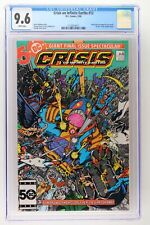 Crisis on Infinite Earths #12 - DC 1986 CGC 9.6 Wally West becomes the new Flash
