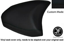 BLACK VINYL CUSTOM 2010+ FITS DUCATI MULTISTRADA 1200 S REAR SEAT COVER ONLY