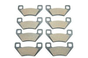 Fit 2009-2015 Arctic Cat Prowler 1000 XTZ Front And Rear Brake Pads