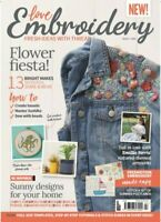 Love Embroidery Issue 2 Magazine - Fresh Ideas With Thread + Embroidery Patterns