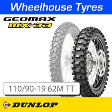 Dunlop Geomax MX33 Soft-Med 110/90-19 62M T/T NHS