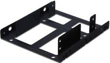DIGITUS Einbaurahmen für 2 5´ Festplatten zweifach schwarz