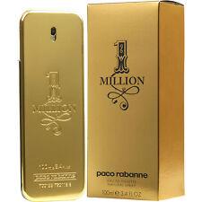 1 One Million von Paco Rabanne 3.4 oz EDT for Men NEU in Box 100ml