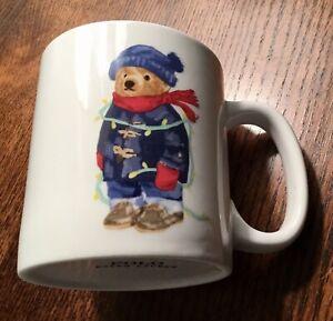 RALPH LAUREN POLO BEAR MUG CHRISTMAS NEW IN BOX