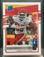 2020 Donruss Clyde Edwards-Helaire Rated Rookie Kansas City Chiefs #321