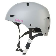 Bern Brighton Ladies Bike Cycle Skate EPS Helmet XS-S | M-L Matte Grey BNIB