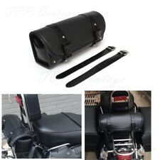 Motorcycle Barrel Saddle Bag Luggage Tool Side Bags For HARLEY YAMAHA Choppers