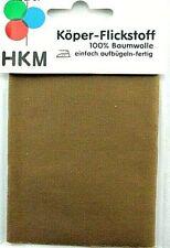 Köper-Flickstoff dunkelbeige/Sand 11,5 x 40 cm zum Aufbügeln   1120/07