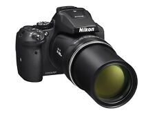 Nikon COOLPIX P900 16MP CMOS Digital Camera-Black-w/ 83X Optical Zoom-Wi-Fi-NIB