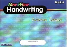 NEW WAVE HANDWRITING-VICTORIAN CURSIVE- BOOK A 5-6 Years **FREE POSTAGE**