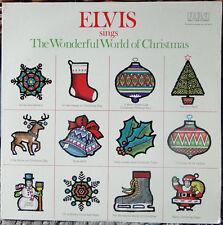 Elvis Sings The Wonderful World of Christmas; 1975 RCA-ANL11936 Orange Label RE