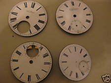 Pocket watch dials x 4 41-35mm 1