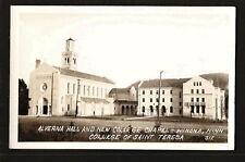 Winona Minnesota MN c1930 RPPC St Teresa College Chapel