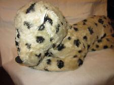 "Mid Century 1950's Stuffed 19"" Black & White Dalmatian Dog County Fair Prize"