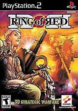 RING OF RED 3d strategic warfare VIDEO GAME konami SONY PLAYSTATION 2