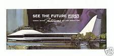 "1964-1965 NEW YORK WORLD'S FAIR GENERAL MOTORS FUTURAMA BROCHURE""SEE THE FUTURE"""