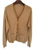 Mens LONDON by BURBERRY cardigan/jumper/sweater Size large. Immaculate RRP £325.