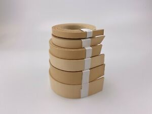 4mm thick premium veg tan leather cowhide belt strip natural - select size