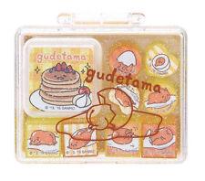 2016 Sanrio Gudetama Egg mini Stamper Stamps Box Set