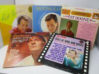 Lot of 5 Pat Boone LP Wholesale