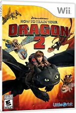 How To Train Your Dragon 2 [Nintendo Wii, NTSC, Action Adventure Video Game] NEW