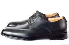 Stafford Signature Mens Oxford Lace Up Dress Shoes Leather Black Sz 10 M