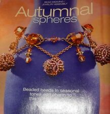 Bead & Button Roller Bead Necklace Spheres Stamped Metal Jewelry Floral Bracelet