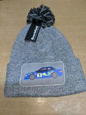 1997 WRC Subaru Impreza World Rally Colin McRae Gray Wool beanie bobble hat