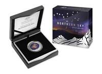 2016 Northern Sky Ursa Major Domed Silver Coin