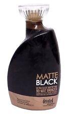Matte Black Ultra Sleek No Wait Tanning Bronzer Lotion 13.5 Ounce DC