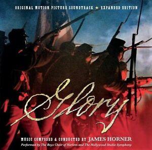 GLORY James Horner 2-CD Soundtrack Score EXPANDED Ltd Ed LA-LA LAND New MINT!