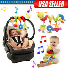 Baby+Infant+Activity+Spiral+Crib+Stroller+Bed+Car+Seat+Animal+Hanging+Toy+US