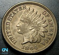 1864 CN Indian Head Cent Penny  --  MAKE US AN OFFER!  #P6036